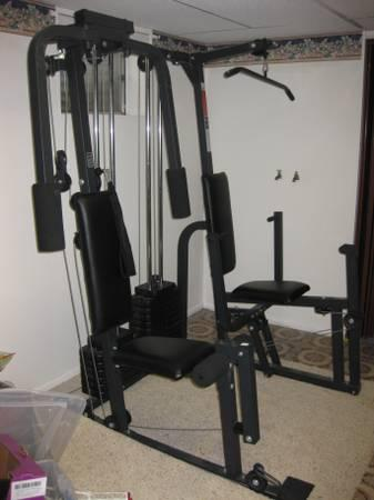 Joe Weider Pro 9940 Home Gym Weight Set For Sale In Orem