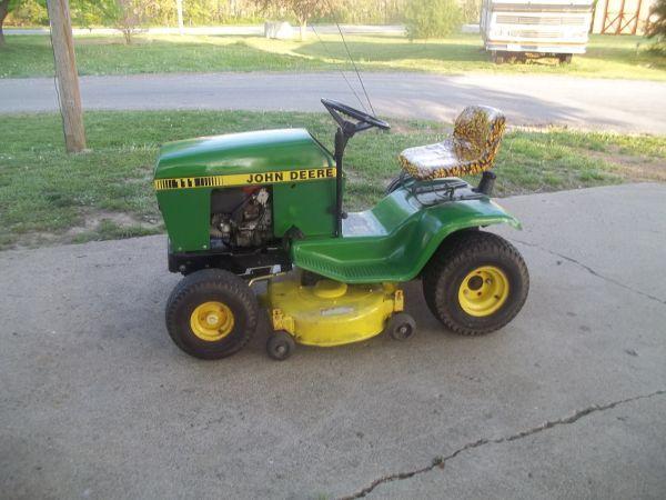 John Deere 111 Riding Lawn Mower 14 5 Hp Ready To Mow
