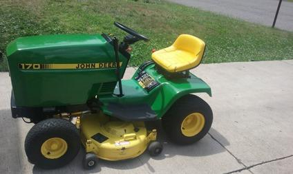 John Deere 170 Series Lawn Tractor For Sale In Nanticoke