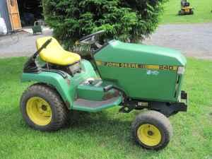 John Deere 240 Garden Tractor Newark For Sale In