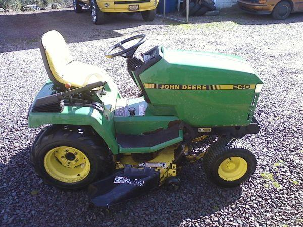 John Deere 950 Tractor Seat : John deere lawn tractor sweet valley for sale in