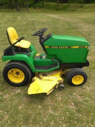 John Deere 265 garden tractor/mower - $750 (Farmland)
