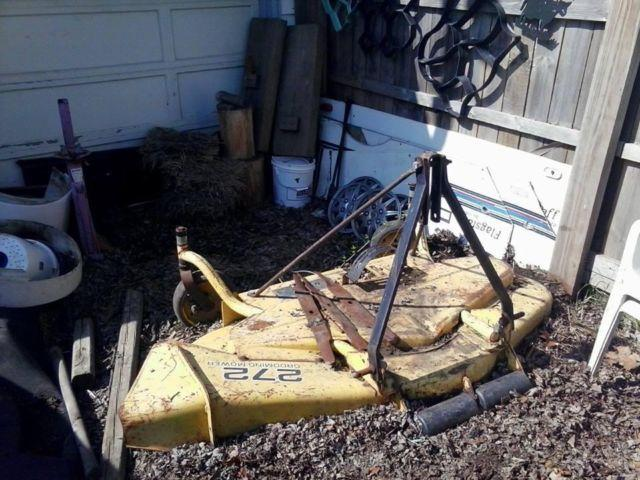 john deere  grooming mower  point deck  sale  adrian michigan classified