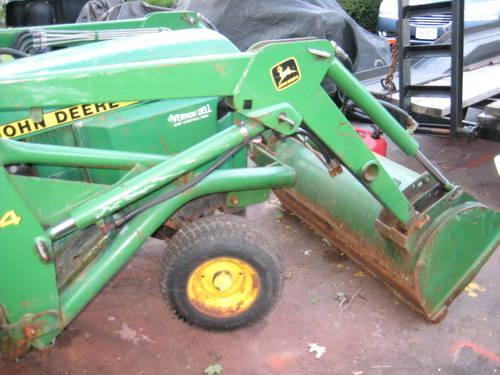 John Deere 330 Garden Tractor 16hp Diesel Hydro Front