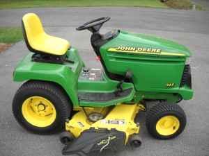 John Deere 345 >> John Deere 345 Lawn And Garden Tractor 3100 Cleveland