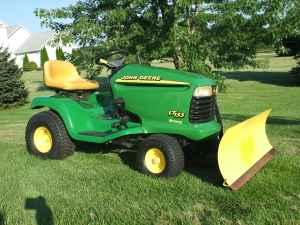 John Deere 42 Quot Snowblade And Wheel Chains Sycamore