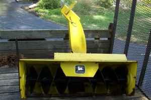 John Deere 420 430 Snow Thrower Snowthrower Garden Tractor West Henrietta Rochester Ny For