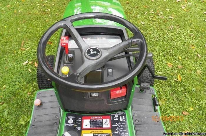 John Deere 425 Garden Tractor 60 Deck 20
