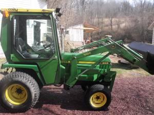 John Deere 855 tractor - $10000