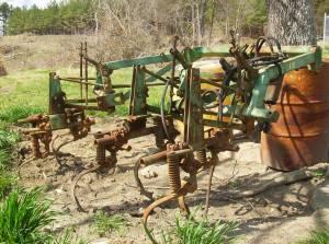 John Deere A20 2 row cultivator - $500 (Buffalo