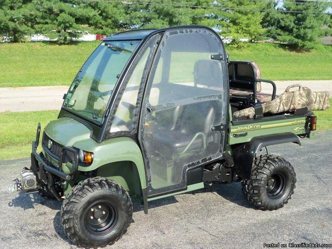 john deere gator hpx 4x4 for sale in cincinnati ohio. Black Bedroom Furniture Sets. Home Design Ideas