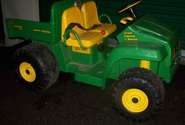 Old John Deere Power Wheels : John deere gator powerwheels big jake dump truck for