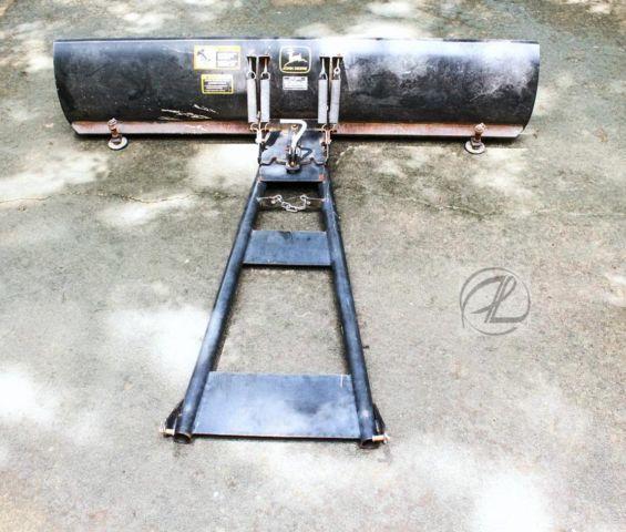 """John Deere Gator Plow >> John Deere Gator Snow Blade Plow 72"""" Scraper 3 Positions Heavy-Duty BM for Sale in Woodstock ..."""