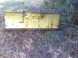 John Deere Hydraulic Snow Plow - $400 (Johnston City)