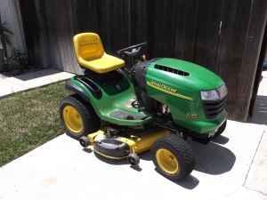 John Deere L130 Lawn Tractor 23HP 48 in Deck Auto w/cruise control - $1295  (Camarillo)