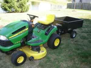 John Deere LA105 Riding Lawn Mower - $1000