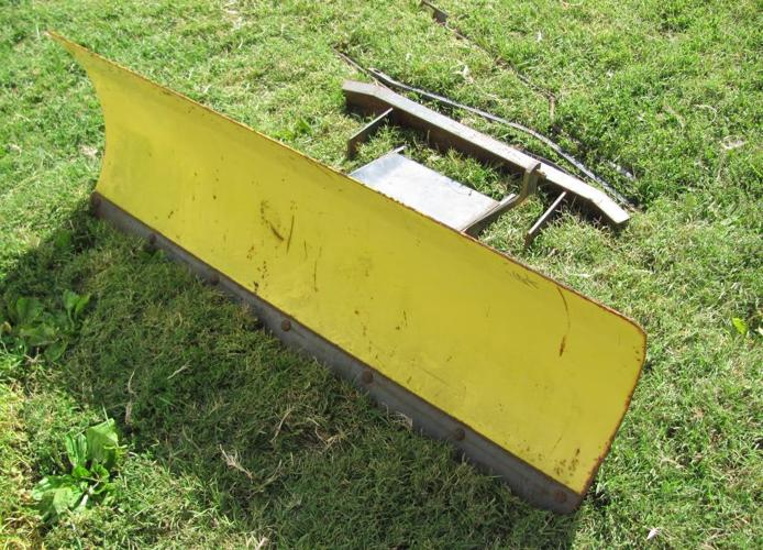 John Deere Lawn tractor snow blade - $175 (McLouth)