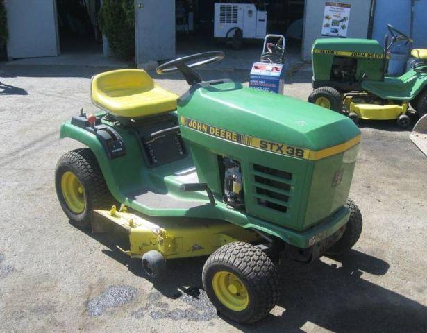 John Deere Stx 38 : John deere stx lawn tractor for sale in mineola new
