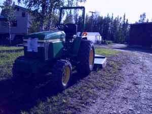 John Deere Tractor - (Fairbanks) for Sale in Fairbanks ...