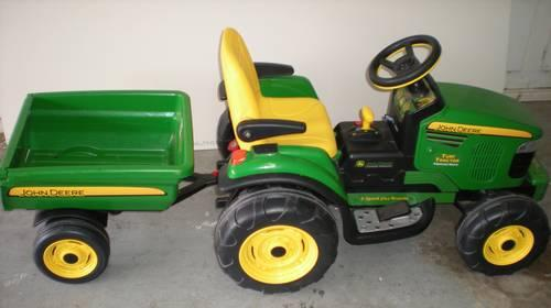 Peg Perego Turf Tractor Parts : John deere turf tractor with trailer car interior design