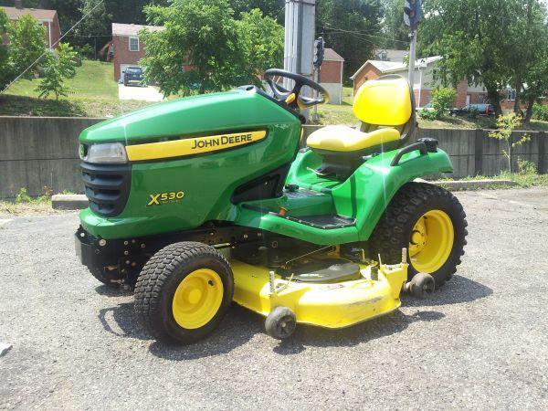 John Deere X530 Lawn Tractor : John deere lawn tractor castle shannon for sale