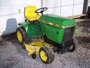 John Deere -314 Riding Lawn Mower- Hydrostatic drive/ will barter - $950 (Greece/Rochester/Holley/Buffalo)