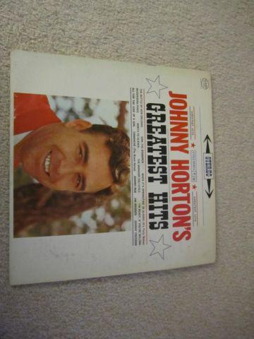 Johnny Horton's Greatest Hits album, CS 8396