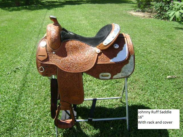 Johnny Ruff Western Show Saddle