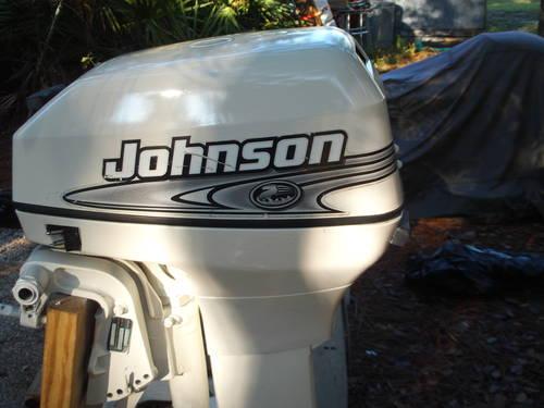 Johnson 9 9 HP Longshaft Sailmaster Kicker 1996 Electric Start for
