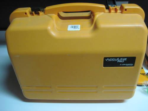 Johnson Acculine Pro Self Leveling Rotary Laser Level With GreenBrite