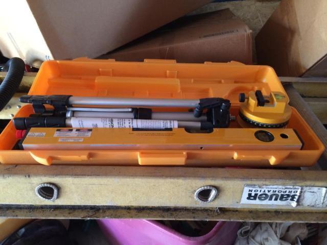 Johnson Hot Shot Sound  Light Laser Level Kit