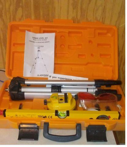 Johnson Laser Level Kit