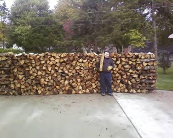 Johnson 39 S Seasoned Split Oak Firewood Delivered Stacked For Sale In Delphos Kansas Classified