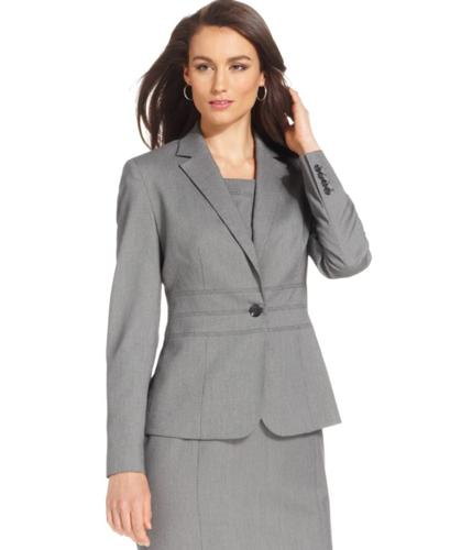 Jones New York Blazer, Button-Front Jacket