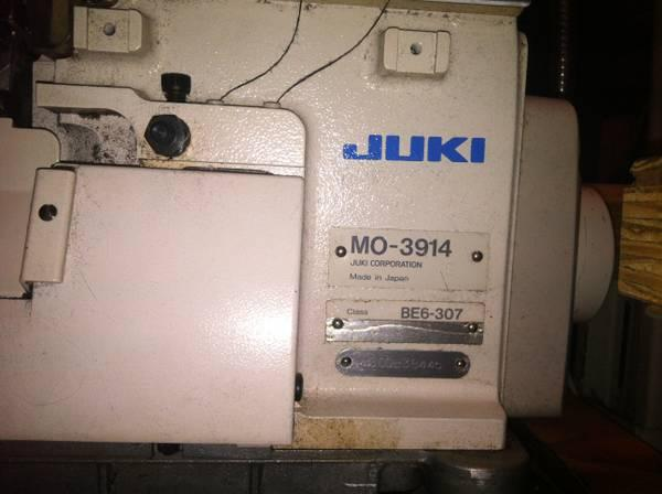 Juki Industrial Serger Sewing Machine Model MO-3914 Great condition - $1100