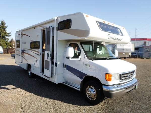 July coachmen freelander 26 foot motorhome for sale in for Oregon department of motor vehicles salem or