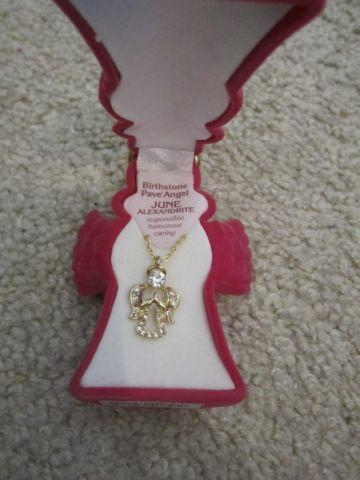 June birthstone necklace in great condition
