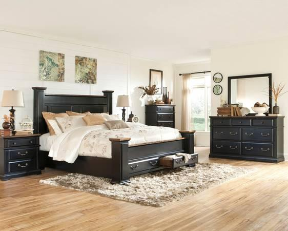 Just arrived new bedroom suite from ashley check it out for Bedroom furniture hawaii