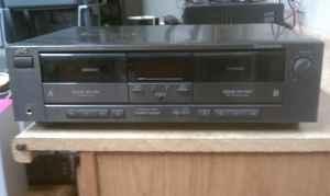 JVC Dual Cassette Deck TD-W205 - $20 Chesterfield