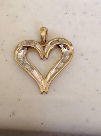 Jwbr heart diamond pendant for sale in roanoke virginia jwbr heart diamond pendant 40 aloadofball Images