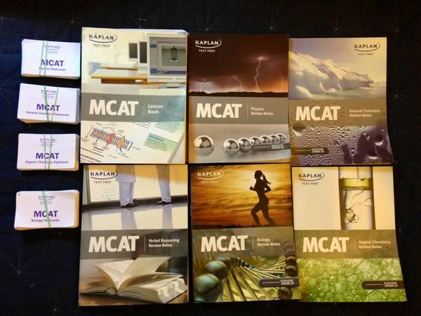 Kaplan MCAT review books - $40