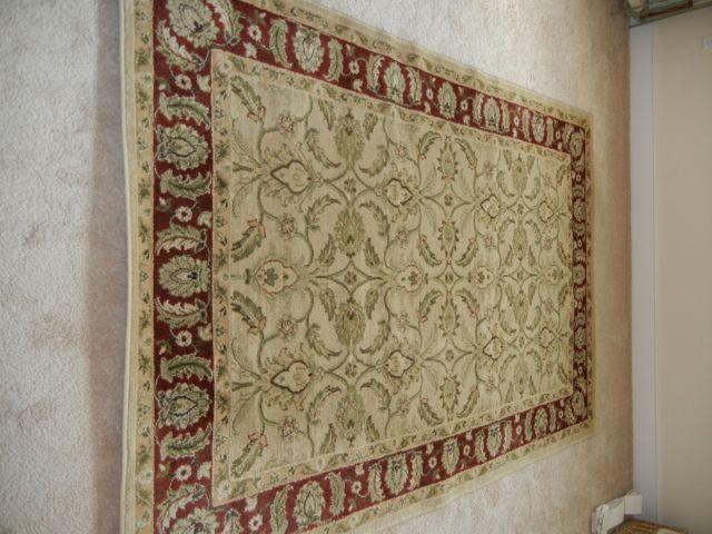 Karachi Classic Design Bisque Area Rug 90 X 60 For Sale In Haddon Heights New Jersey
