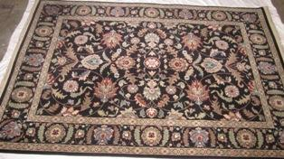 Karastan Palazzo Verona Black Area Rug For Sale In Hanover