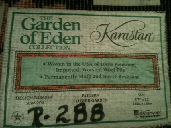 KARASTAN RUG - $600