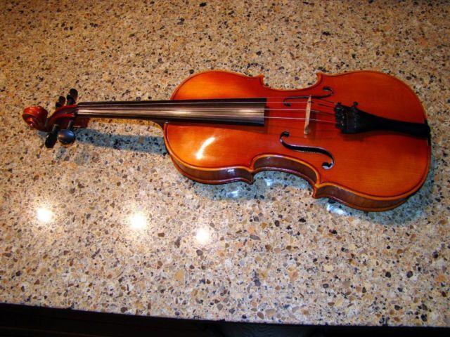 karl knilling 3 4 size violin stradivarious model of 1732 string music for sale in grand rapids. Black Bedroom Furniture Sets. Home Design Ideas