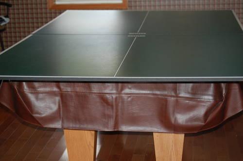 Kasson 7u0027 Slate Pool Table/ Removable Ping Pong Table