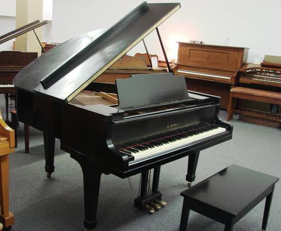 Kawai 350 baby grand piano for sale in pensacola for How big is a grand piano