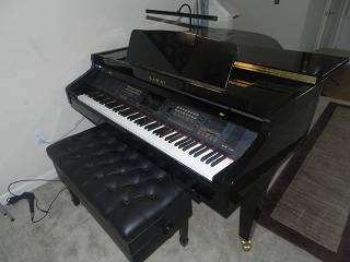 Kawai digital baby grand piano for sale in sparks nevada for How big is a baby grand piano
