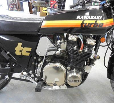 Kawasaki TURBO , year 1978