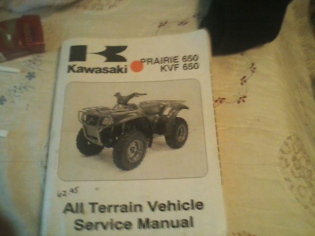 Kawaski ATV Prairie 650 Service Manual